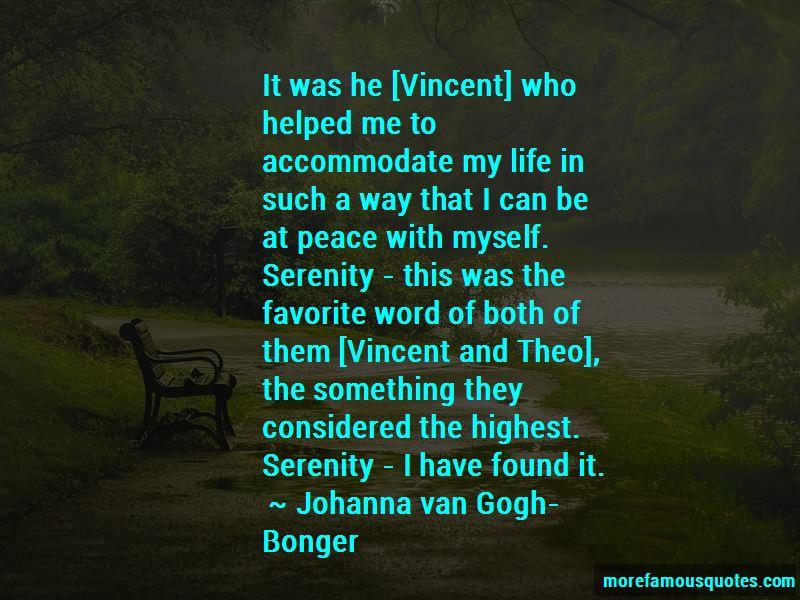 Johanna Van Gogh-Bonger Quotes Pictures 4