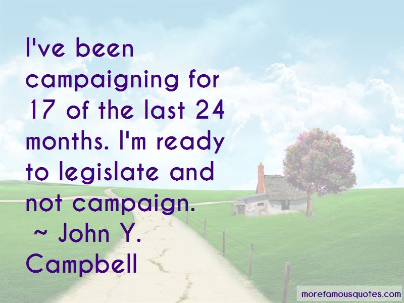 John Y. Campbell Quotes Pictures 2