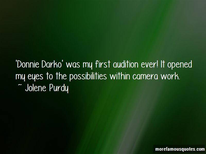 Jolene Purdy Quotes
