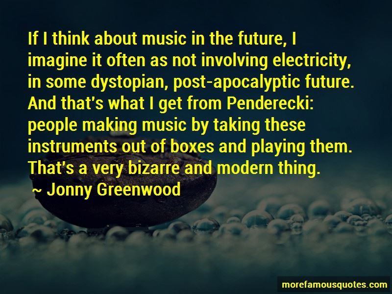 Jonny Greenwood Quotes Pictures 2