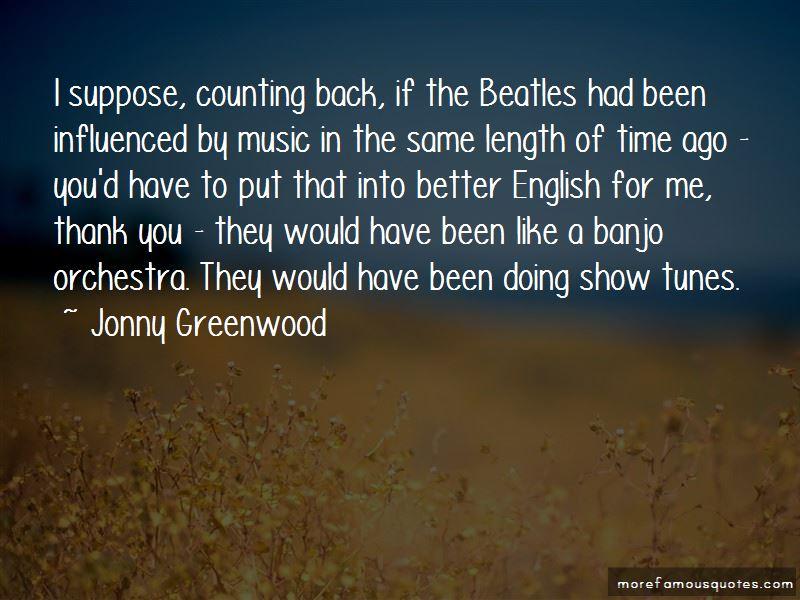 Jonny Greenwood Quotes