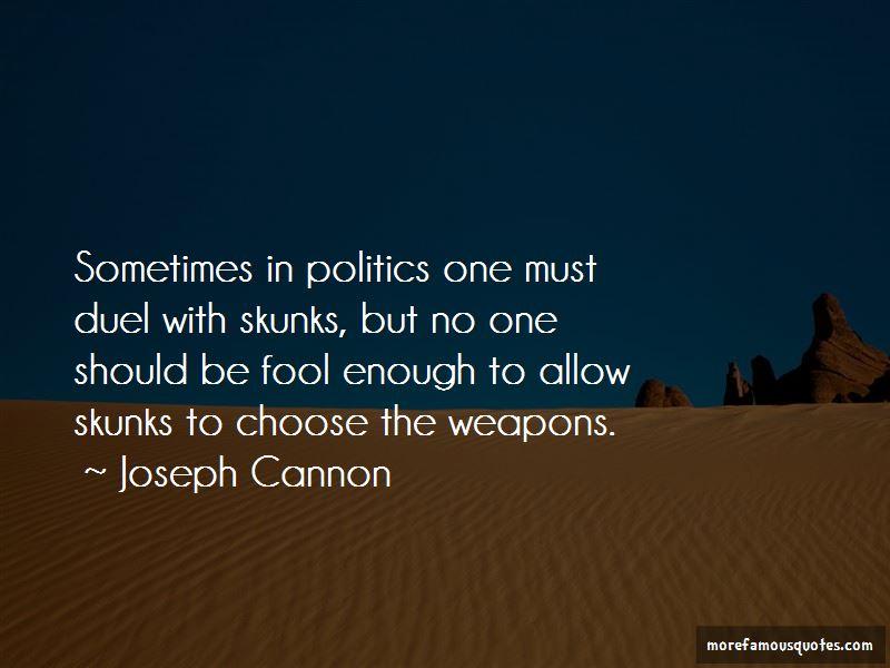 Joseph Cannon Quotes Pictures 2