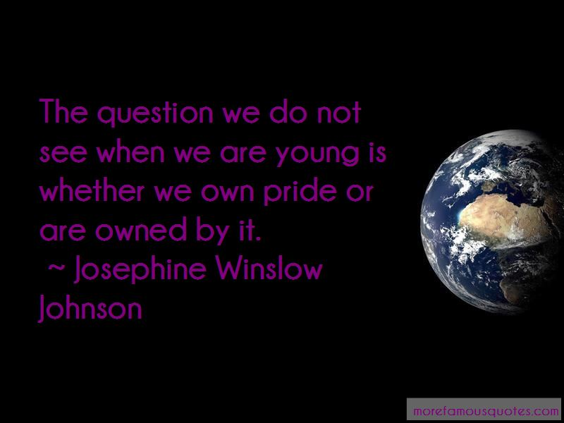 Josephine Winslow Johnson Quotes Pictures 2