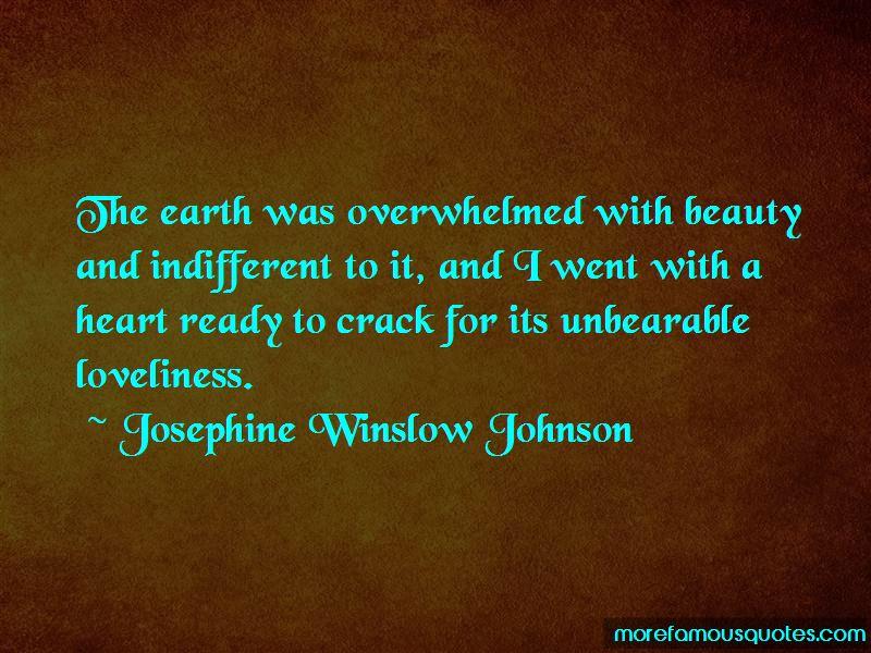 Josephine Winslow Johnson Quotes