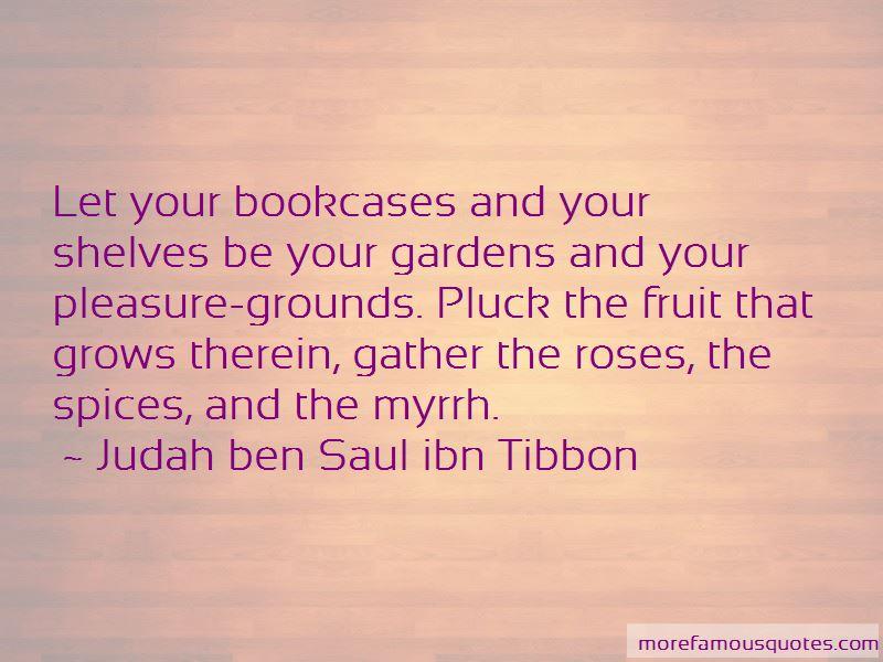 Judah Ben Saul Ibn Tibbon Quotes