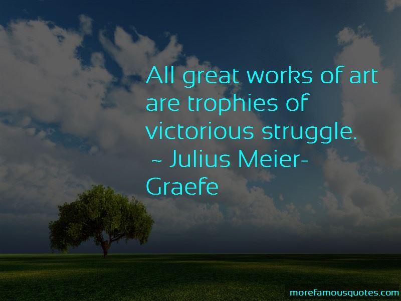 Julius Meier-Graefe Quotes