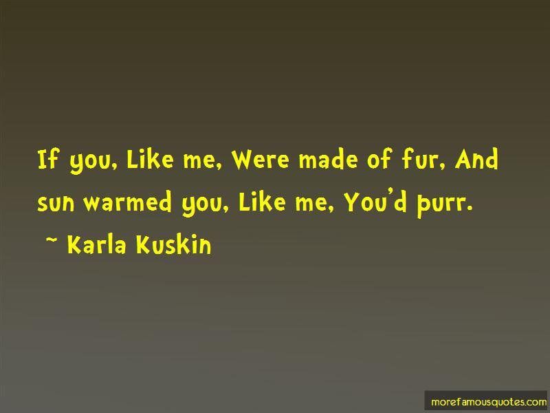 Karla Kuskin Quotes