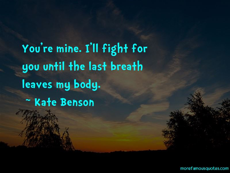 Kate Benson Quotes Pictures 2