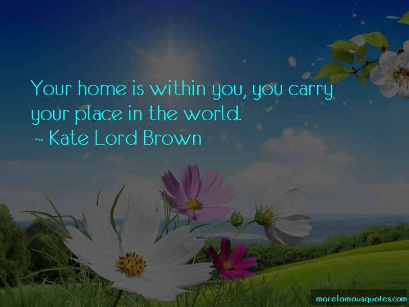 Kate Lord Brown Quotes Pictures 2