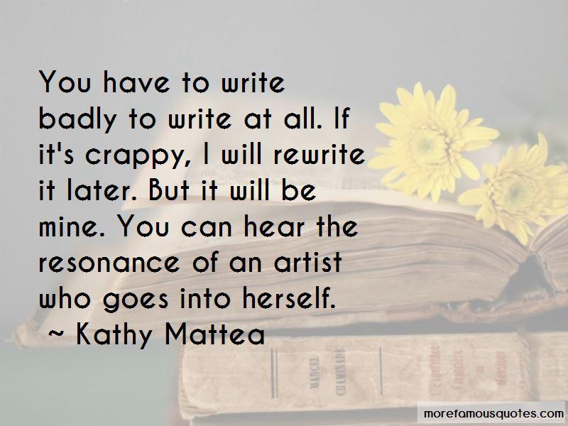 Kathy Mattea Quotes