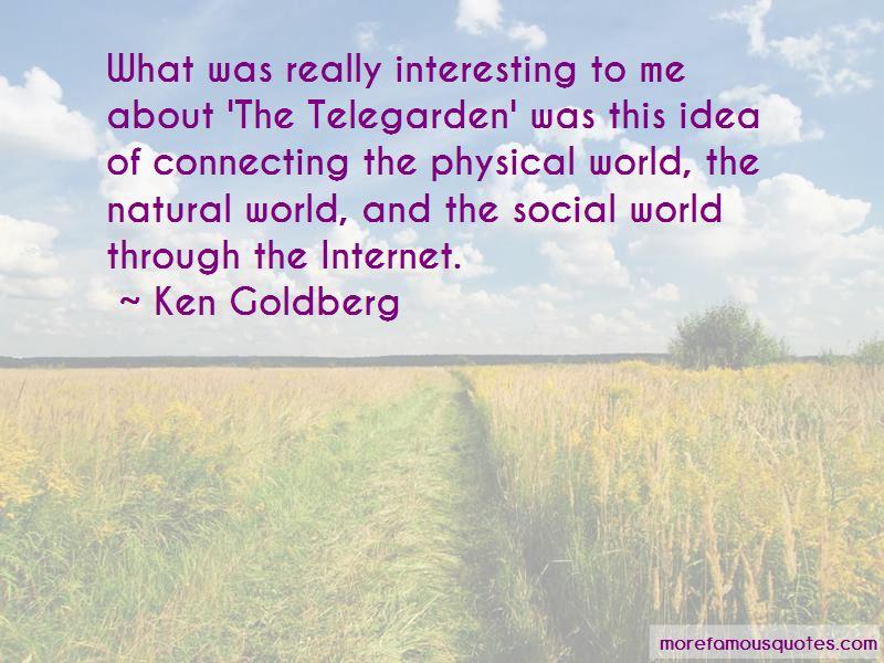 Ken Goldberg Quotes Pictures 2