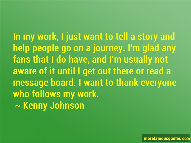 Kenny Johnson Quotes Pictures 4