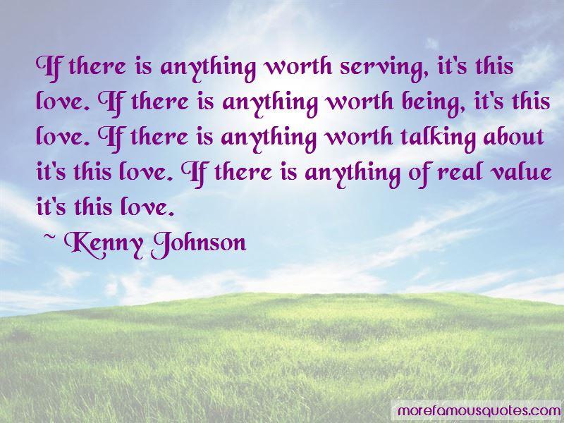 Kenny Johnson Quotes