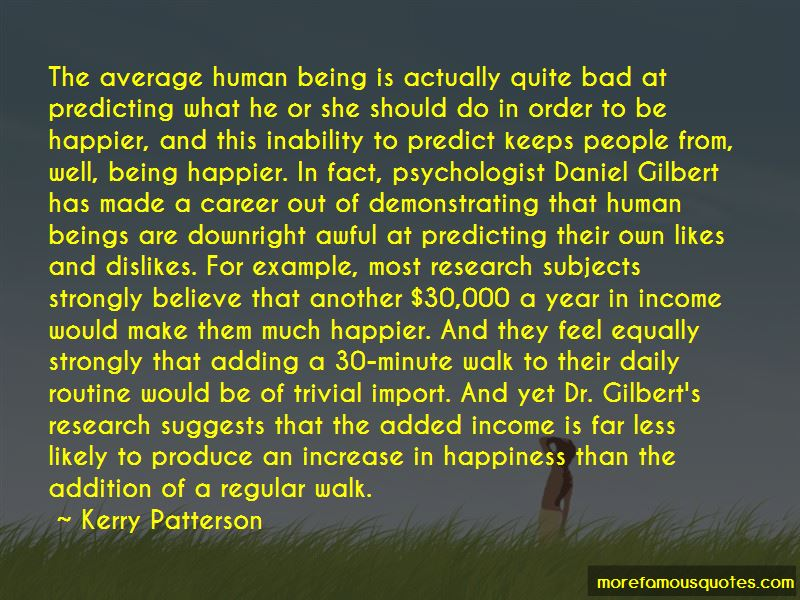 Kerry Patterson Quotes