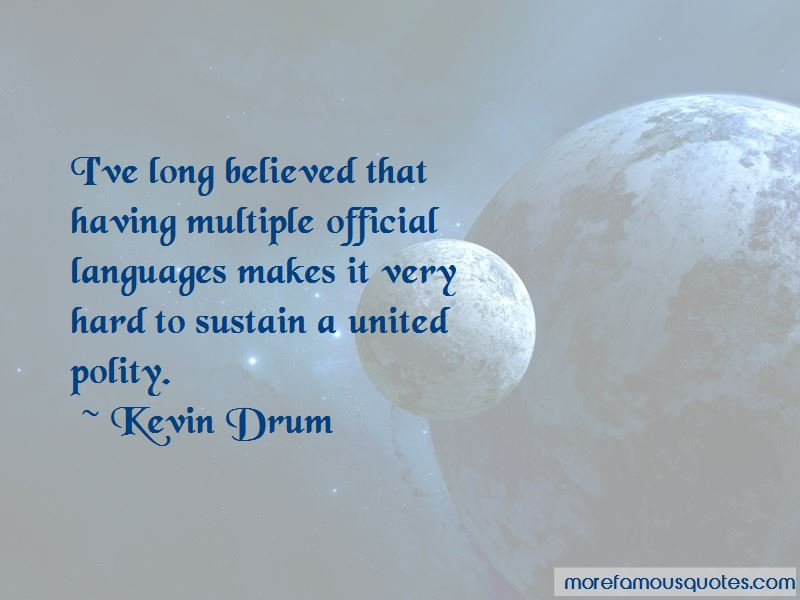 Kevin Drum Quotes