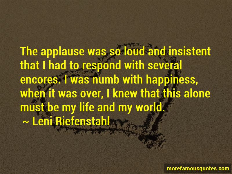 Leni Riefenstahl Quotes Pictures 2
