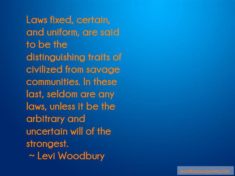 Levi Woodbury Quotes