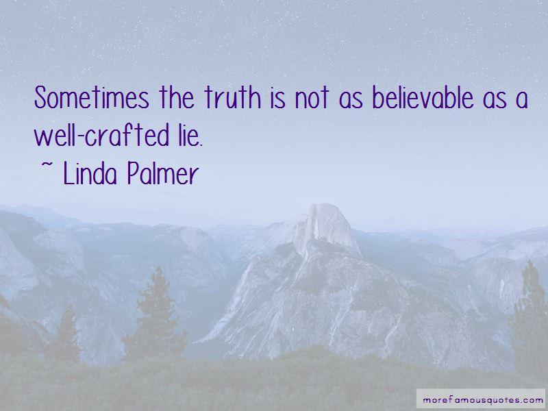 Linda Palmer Quotes
