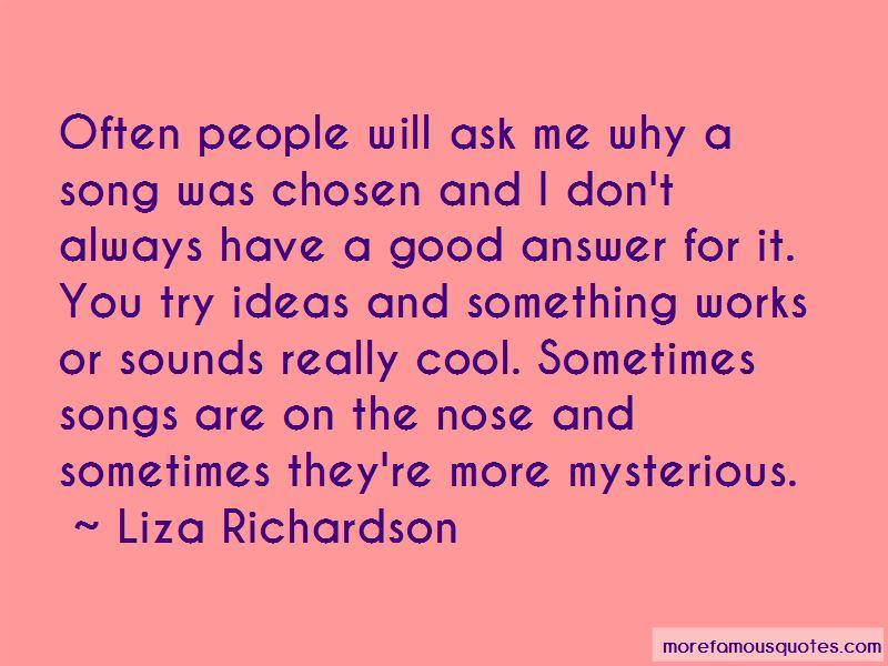 Liza Richardson Quotes Pictures 2