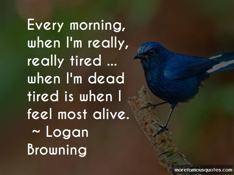 Logan Browning Quotes