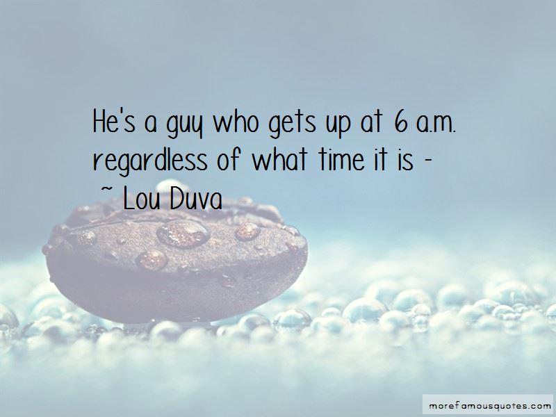 Lou Duva Quotes Pictures 3