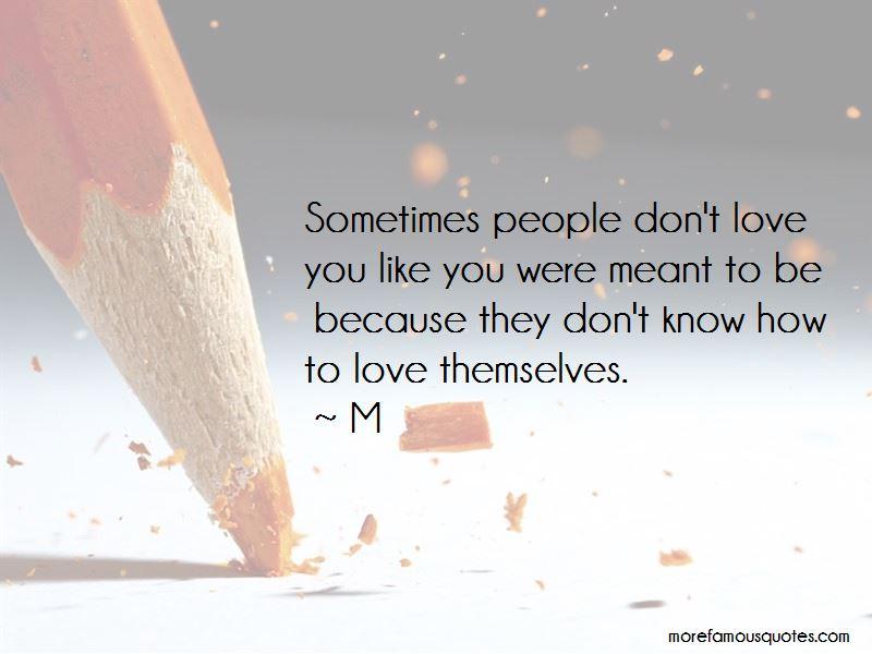 M Quotes Pictures 4