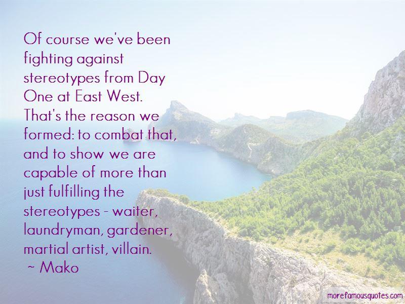 Mako Quotes