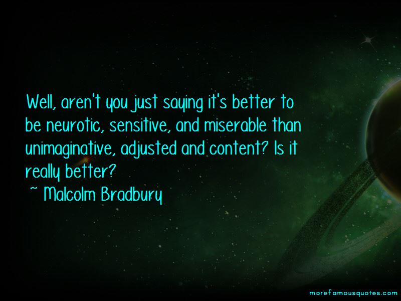 Malcolm Bradbury Quotes Pictures 3