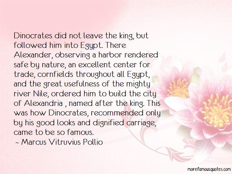 Marcus Vitruvius Pollio Quotes