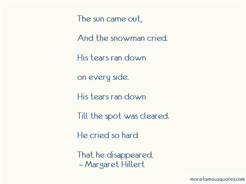 Margaret Hillert Quotes