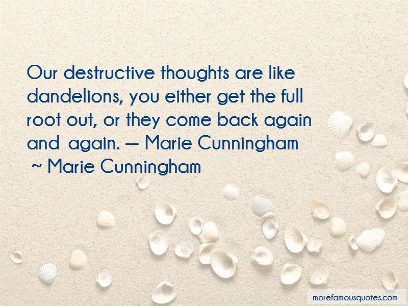 Marie Cunningham Quotes Pictures 2