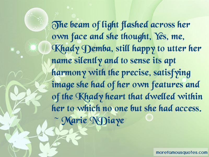 Marie NDiaye Quotes