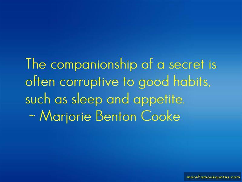 Marjorie Benton Cooke Quotes Pictures 2