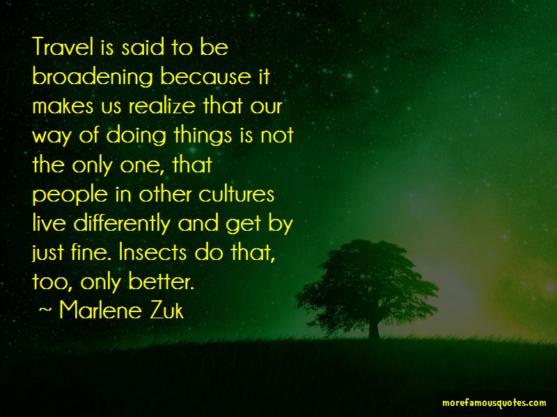 Marlene Zuk Quotes Pictures 4