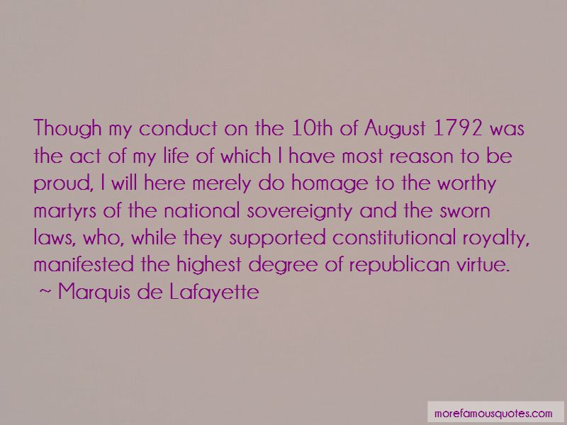 Marquis De Lafayette Quotes Pictures 3