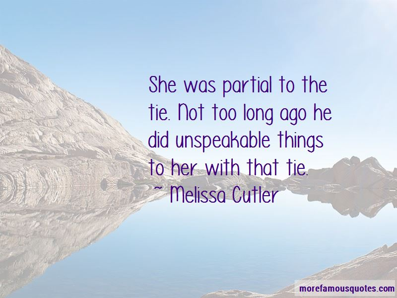 Melissa Cutler Quotes Pictures 2