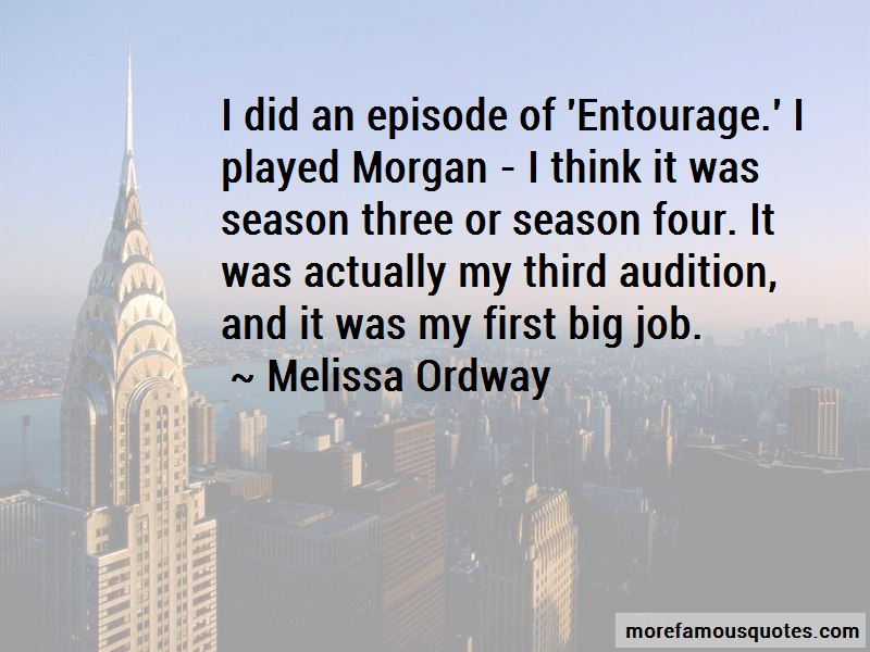 Melissa Ordway Quotes