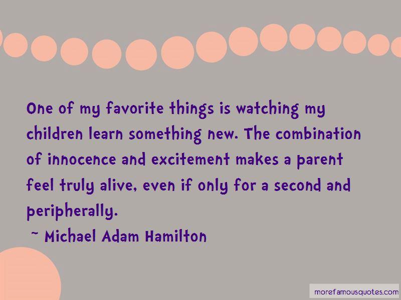 Michael Adam Hamilton Quotes Pictures 4