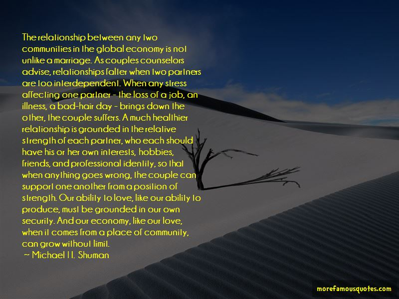 Michael H. Shuman Quotes