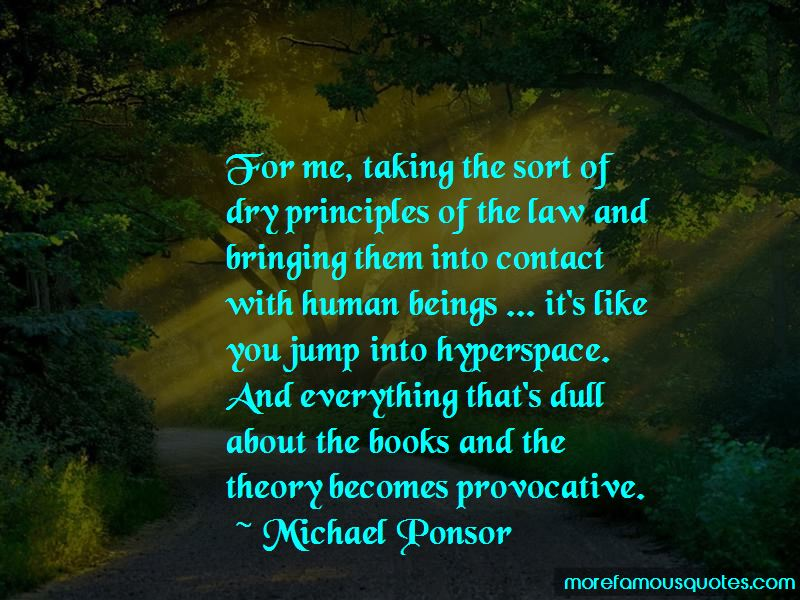 Michael Ponsor Quotes Pictures 2