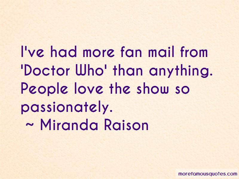 Miranda Raison Quotes Pictures 2
