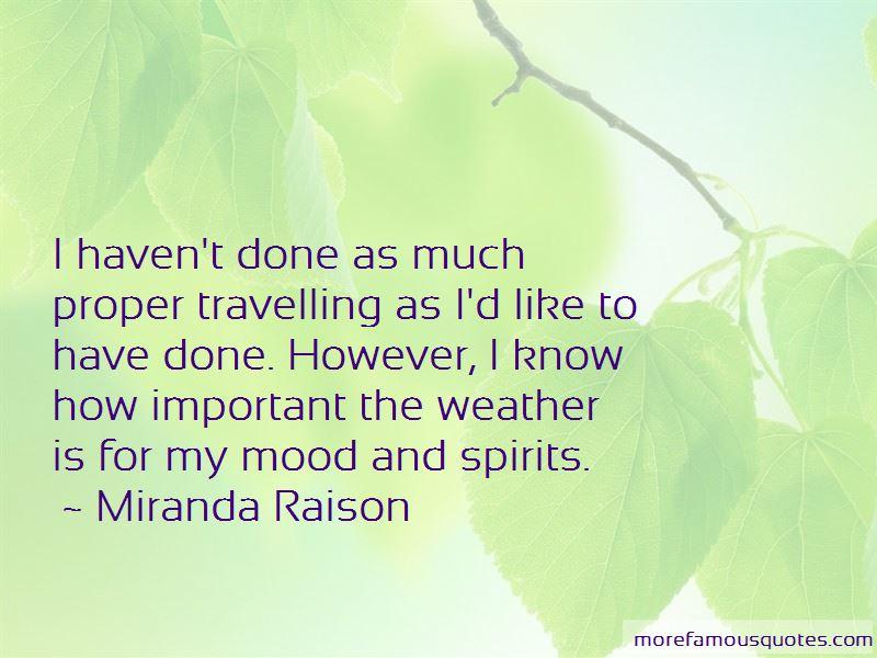 Miranda Raison Quotes