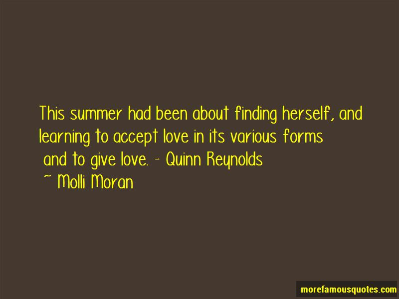 Molli Moran Quotes Pictures 2