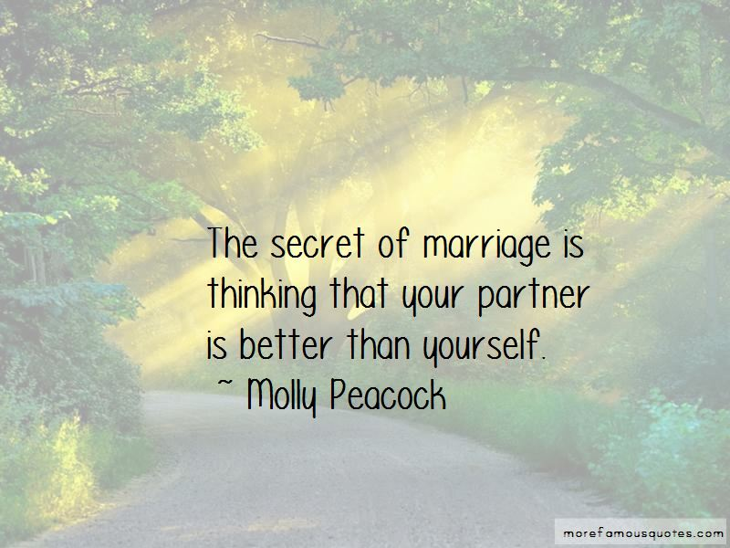 Molly Peacock Quotes Pictures 3