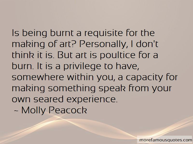Molly Peacock Quotes Pictures 4