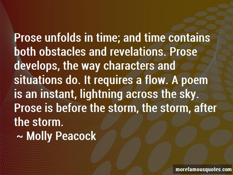 Molly Peacock Quotes