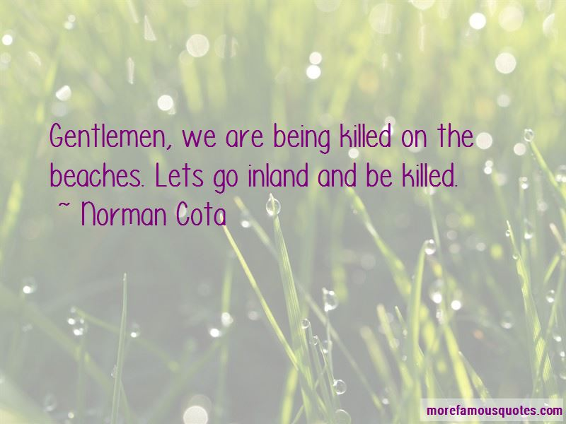 Norman Cota Quotes Pictures 2
