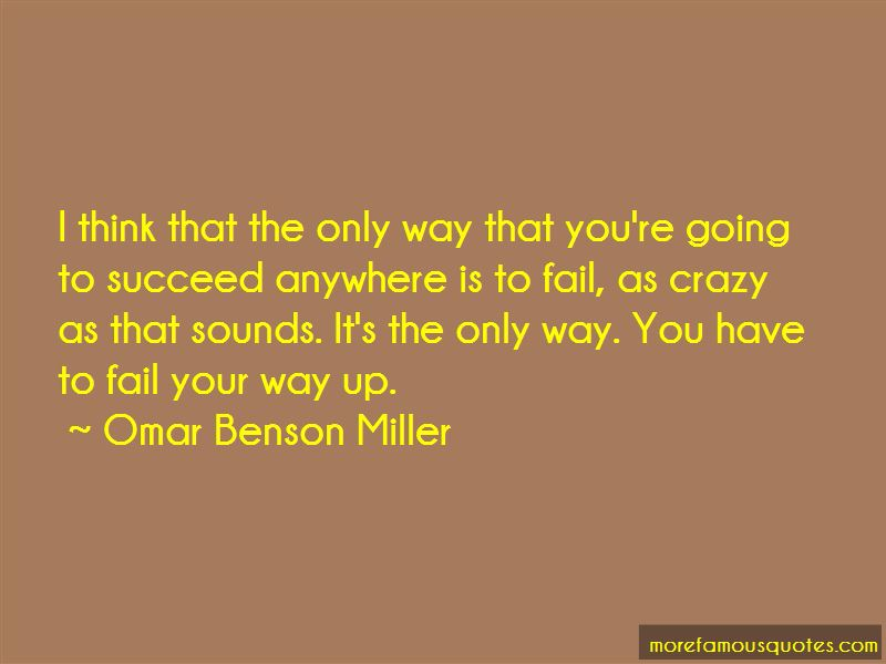 Omar Benson Miller Quotes Pictures 2