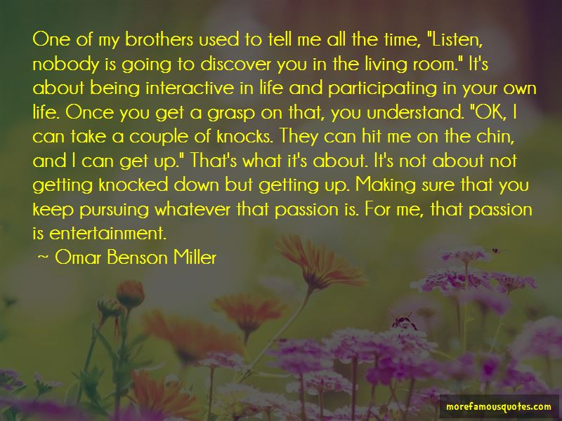 Omar Benson Miller Quotes Pictures 3