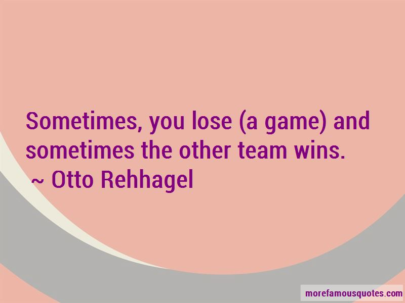 Otto Rehhagel Quotes